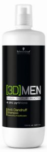 Schwarzkopf 3D Men Anti-Dandruff - Shampoo Anti-caspa 1000ml