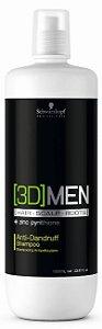 3DMen Shampoo Anticaspa SCHWARZKOPF 1000ml