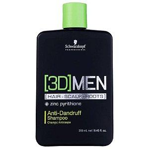 Schwarzkopf 3D Men Anti-Dandruff - Shampoo Anti-caspa 250ml