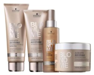 Kit BlondMe Shampoo + Condicionador + Máscara e Sérum Schwarzkopf Professional