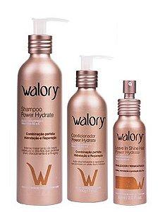 Kit Walory Power Hydrate (3 Produtos)