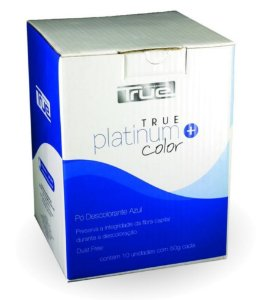 True Brasil True Platinum Color - Pó Descolorante 500g