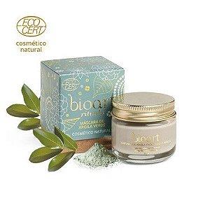 Bioart Máscara Facial Bionutritiva Detox - Argila Verde e Copaíba 30g