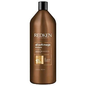 Redken All Soft Mega - Shampoo 1000ml