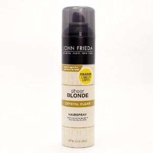 John Frieda Sheer Blonde Crystal Clear - Spray Fixador 240g