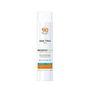 Ada Tina Biosole Fluid FPS 90 - Protetor Solar e Anti Melasma 40ml