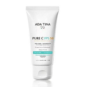 Ada Tina Pure C FPS 50 - Protetor Solar com Vitamina C 50ml