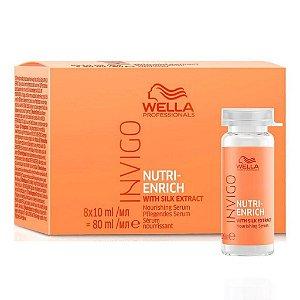 Wella Invigo Nutri-Enrich - Sérum Reparador - Ampola 8x10ml
