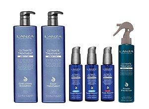 Kit L'anza Ultimate Treatment 3 Passos (6 Produtos)