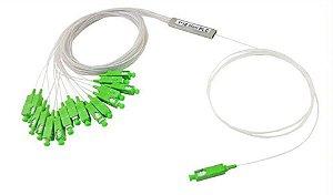SPLITTER OPTICO 1X16 C/CONECTOR SC/APC (5%) RX