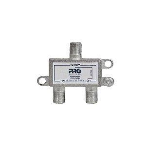 DIPLEXER VHF+UHF SATELITE C/ PASSAGEM DC PQDI 6500