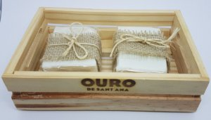 Kit Duplo Sabonete 100% Oliva - Mandarina Verde e Tea Tree