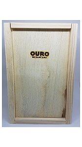Caixa em Madeira para presente - para 2 unidades de 250 ml