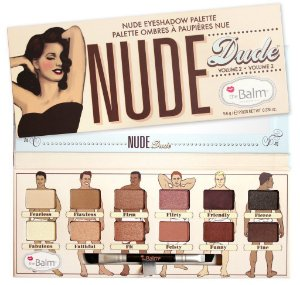 The Balm Paleta de Sombra - Nude Dude