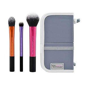 Real Techniques Kit Básico de Pinceis de Maquiagem