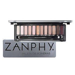 Zanphy Paleta de Sombra Metallic Pack - Prata
