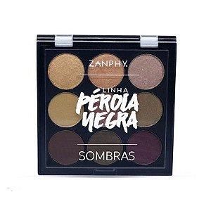 Zanphy Paleta de Sombra Pérola Negra - Modelo 01