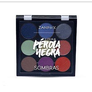 Zanphy Paleta de Sombra Pérola Negra - Modelo 02