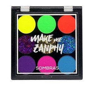 Zanphy Paleta Sombra Neon Glitter