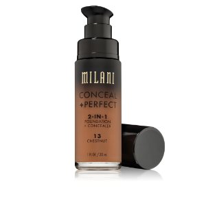Milani Conceal + Perfect 2-IN-1 Foundation + Concealer Cor 13 CHESTNUT