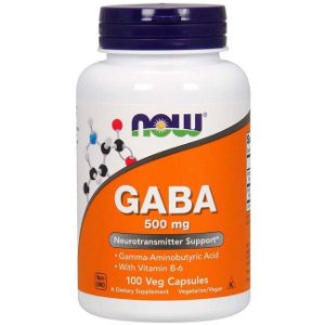 Gaba 500mg (100 cápsulas) - Now Foods