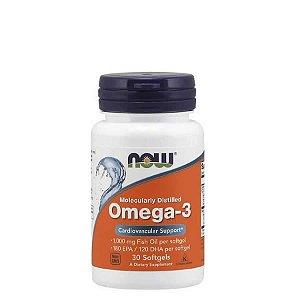 Omega 3  1000mg  30 Caps - 180 Epa/120 Dha - Now Sports