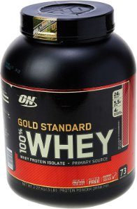 100% Whey Protein Gold Standard (5lbs/2.270g) Optimum Nutrition