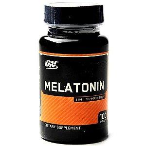 MELATONINA (3MG) 100 TABL OPTIMUM NUTRITION