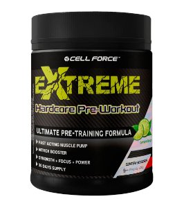 EXTREME HARDCORE PRE-WORKOUT (300G) CELL FORCE