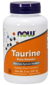 Taurine Powder (227g) - Now Sports