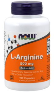 L-Arginine 500mg (100 caps) - Now Sports