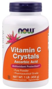 Vitamin C Crystals (227g) - Now Sports