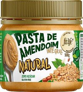 Pasta de Amendoim natural - Fit Life