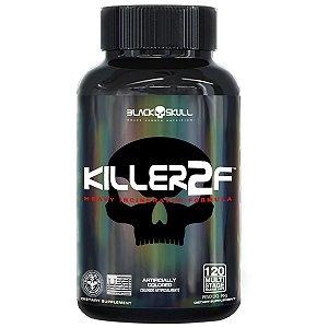 TERMOGÊNICO KILLER 2F - 120 CAPS Black Skull