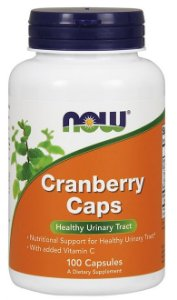 Cranberry Concentrado (100 caps) - Now Sports