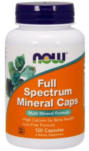 Full Spectrum Minerals (120 caps) - Now Sports