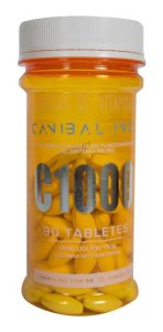 Vitamina C 1000 90 tabs Canibal Inc