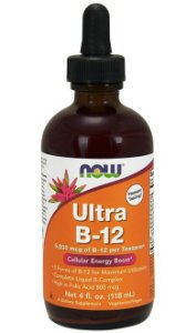 Ultra B-12 5,000 mcg (118ml) - Now Sports