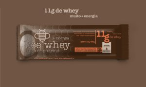 bee Whey + Energia (11g Whey) - Chocolate