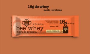 bee Whey + Proteína (16g Whey) - Chocolate