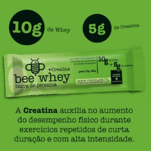 bee Whey + Creatina  (10g whey + 5g creatina) - Chocolate