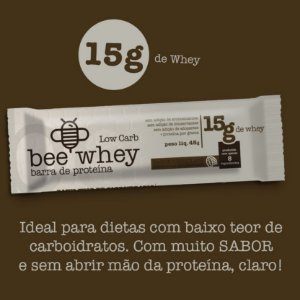 bee Whey Low Carb  (15g whey ) - Chocolate