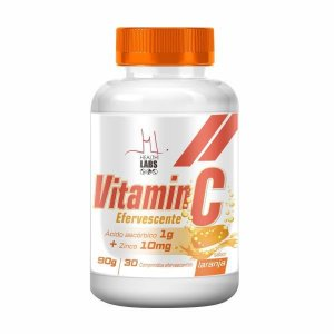 Vitamin C Efervescente -1000MG (30 Comp) - Health Labs