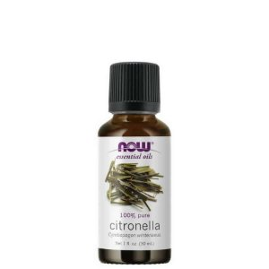 Óleo Essencial Citronela 30 Ml - 100% Puro - Now Foods