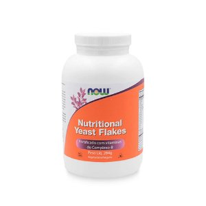 Nutritional Yeast Flakes 10 oz/284g NOW FOODS