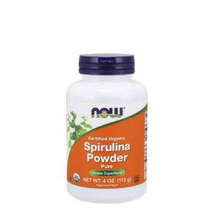 SPIRULINA POWDER 113G – NOW SPORTS