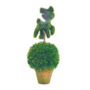 Mini Árvore Topiaria com Gatinho 27cm