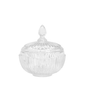 Potiche Cristal Transparente Elisabeth 17,5 cm