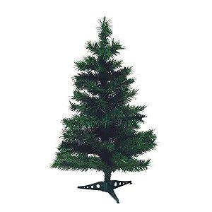 Árvore de Natal Cromus 90cm 78 Galhos San Lorenzo Base Plástico