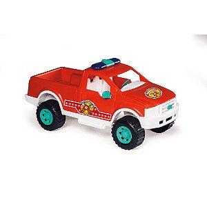 Carrinho Pick-Up Bombeiro Calesita